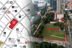URA releases Beach Road commercial site - Singapore Property - Market News