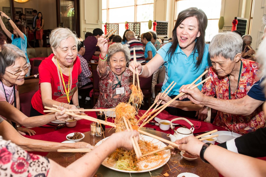 In Pictures: CDL brings festive cheer to seniors - Property Auctions ...