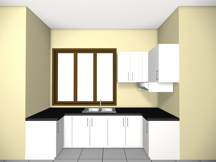 Tips mendesain kitchen set jasa pemasangan baja ringan for Pemasangan kitchen set