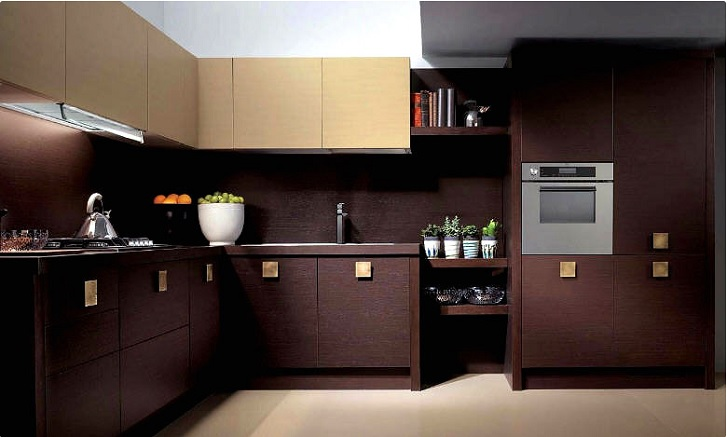 Tips pintar memilih warna kitchen set rumah dan gaya for Kitchen set hitam