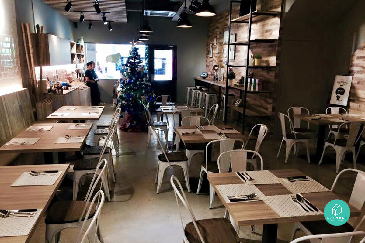 7 funky cafe designs to get inspired from home living for Interior designs concepts