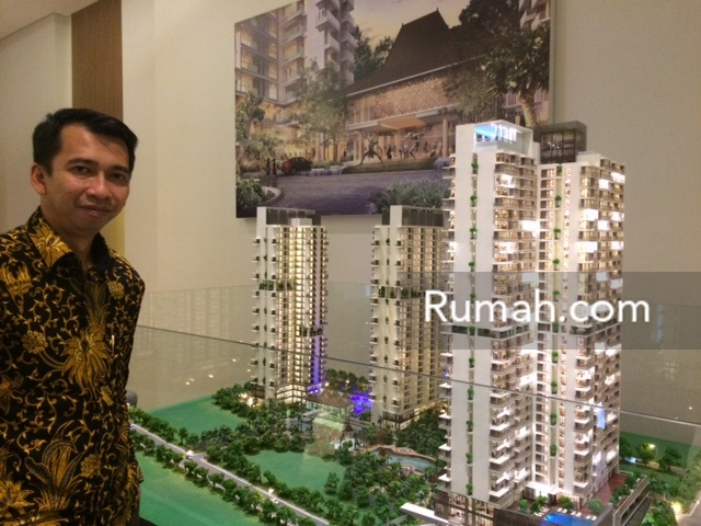 Imron Rosyadi, Marketing and Sales General Manager Synthesis Residence Kemang