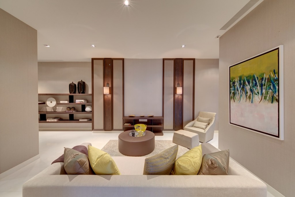 Big spaces gives you more chance to decorate