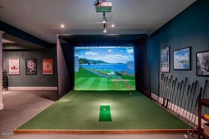 golf simulator pininterest