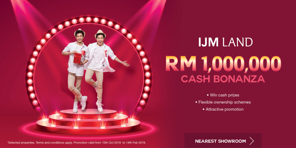 IJM Land Cash Bonanza