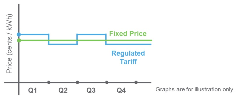 Geneco fixed price plan