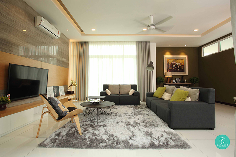 7 beautiful home interior designs in malaysia sell for Modern living room malaysia