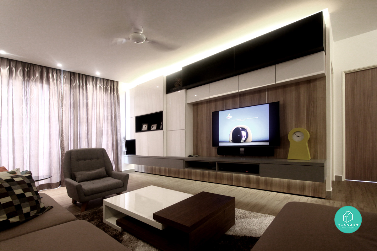 Home renovation ideas make your house a home sell for Condo living room design