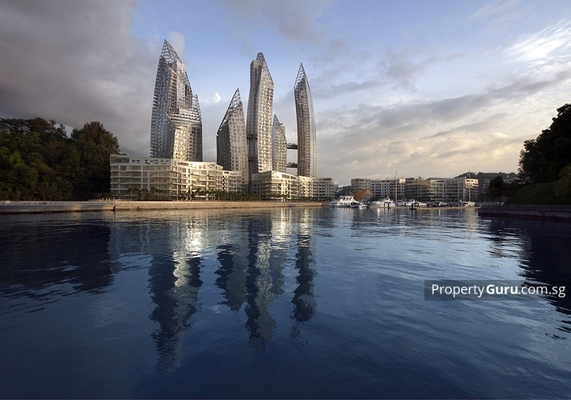 At 13,293 sq ft, Reflections At Keppel Bay is one of Singapore's most expensive and largest penthouses