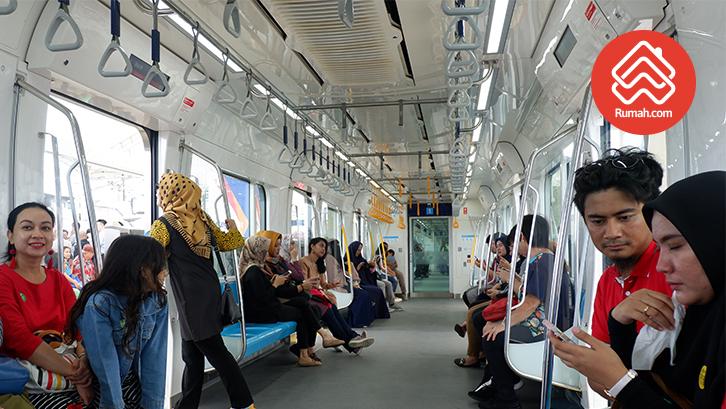suasana MRT Jakarta