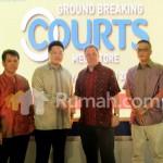 Telan Investasi USD45 Juta, Courts Megastore BSD City Dibangun