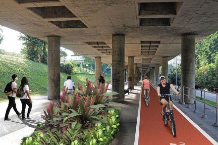 Ang Mo Kio MRT viaduct