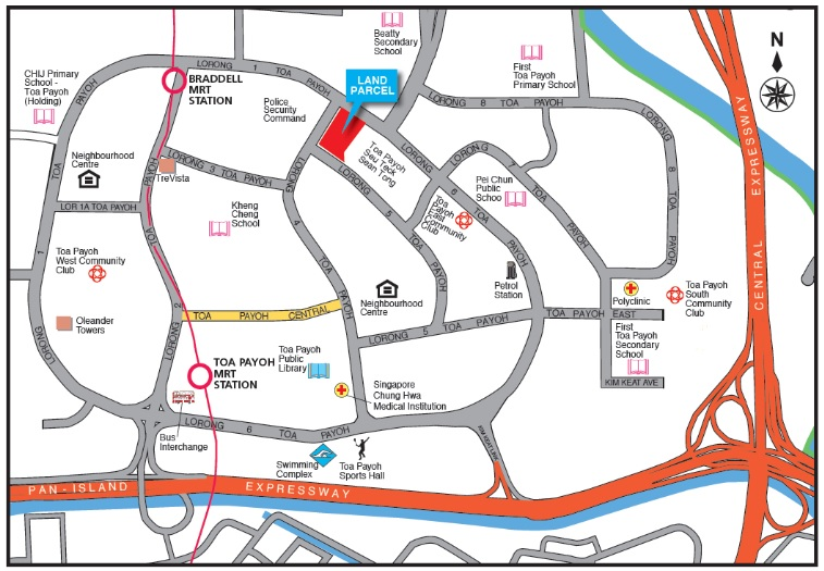 Toa Payoh land parcel