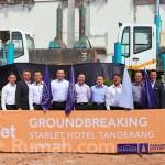 Parador Mulai Pembangunan Starlet Hotel Tangerang
