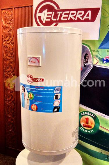 peluncuran water heater handal elterra -  indobuildtech 2015 - anto erawan