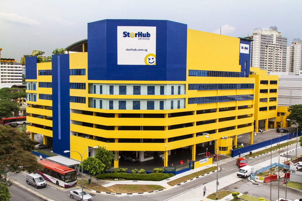 CapitaLand subsidiary StorHub is the largest self-storage operator in terms of size, with 11 facilities across the island. (Source: CapitaLand)