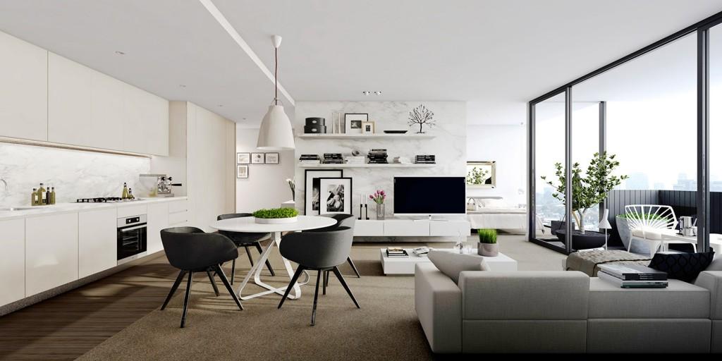 apartemen studio 2