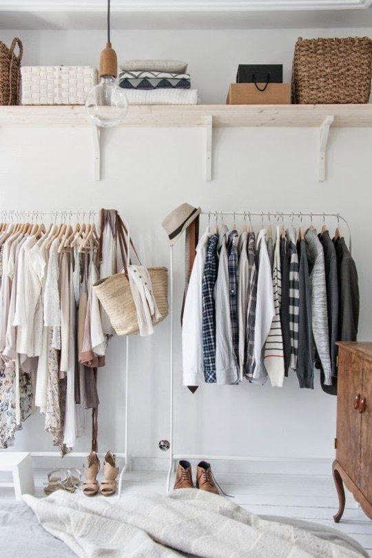 Inspirasi Menyimpan Pakaian Di Apartemen Tanpa Lemari Rumah Dan Gaya Hidup Rumah Com
