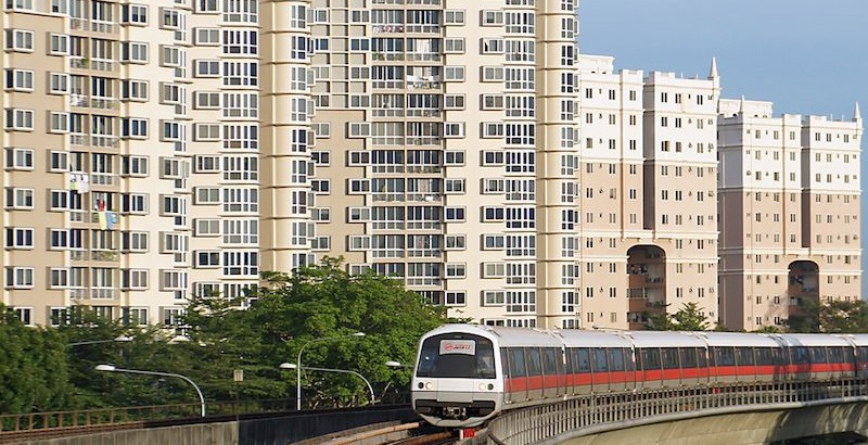 Condo units near MRT station