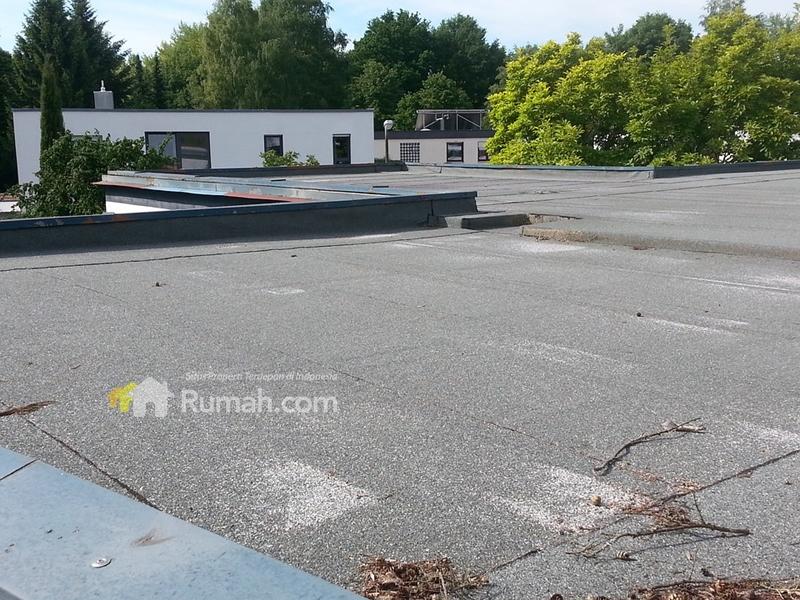 Contoh flat roof