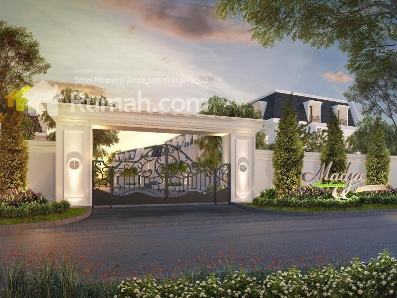 Gambar Pintu Gerbang Perumahan Mewah - Pagar Rumah