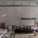 Dinding Unfinished: Ciri Khas Gaya Industrial