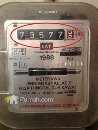 Contoh bargainser meter analog yang wajib Anda perhatikan pada saat membayar listrik.