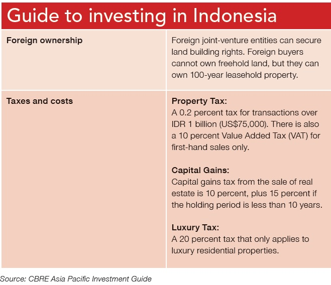 Guide to investing in Indonesia