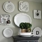 Tips Mendekorasi Dinding Rumah dengan Piring
