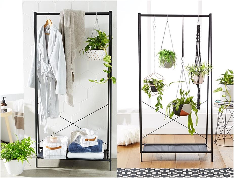 Desain Taman Bunga Gantung  inspirasi bikin taman dalam ruangan rumah dan gaya hidup
