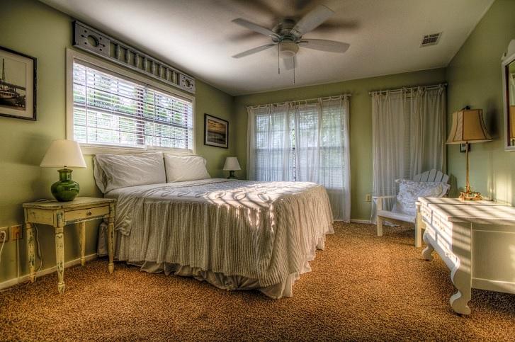 Warna zaitun ini cocok untuk diaplikasikan di kamar tidur (pixabay.com)