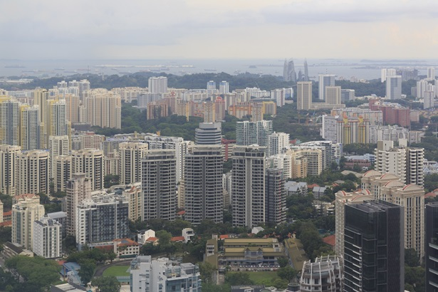 Residential District in Singapore