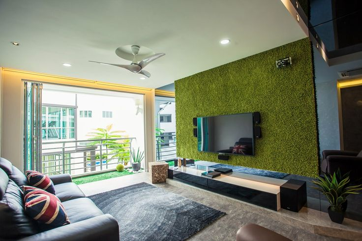 dekorasi rumah-rumput sintetis-5