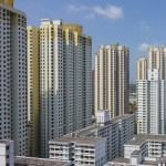 View of HDB flats in Toa Payoh