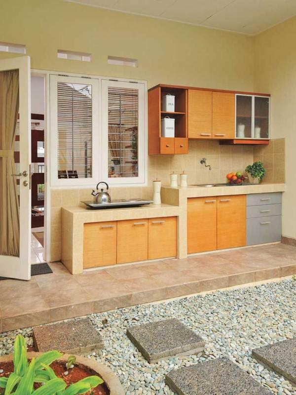 Menyiasati Dapur Terbuka Di Rumah Sederhana Rumah Dan Gaya Hidup
