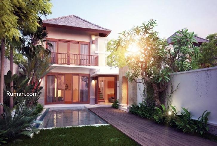 Fasad rumah yang terinspirasi dari proyek Bali Harmoni di