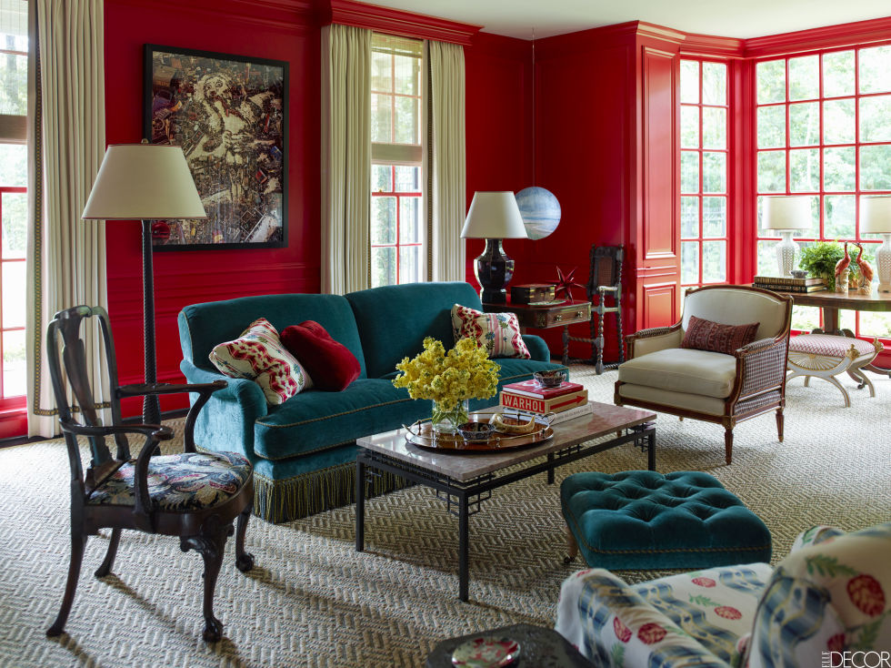 Hangatkan Suasana Rumah Dengan Dinding Merah Properti