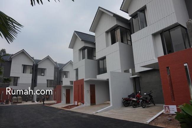 Kebagusan Terrace, perumahan bergengsi di Jakarta Selatan ini dibanderol seharga Rp2 milaran.