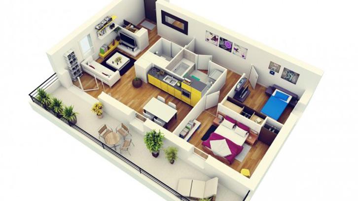 Referensi rumah minimalis tipe 48