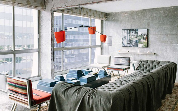 Dekorasi ruangan kecil.