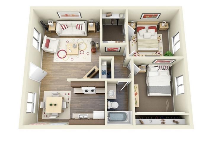 Referensi model rumah minimalis tipe 48