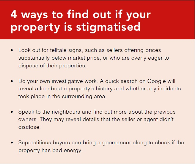 4 ways to find out if your property is stigmatised