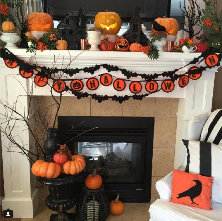 Dekorasi Ala Halloween Ini Super Cute Properti Liputan6 Com