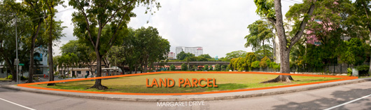Margaret Drive land parcel