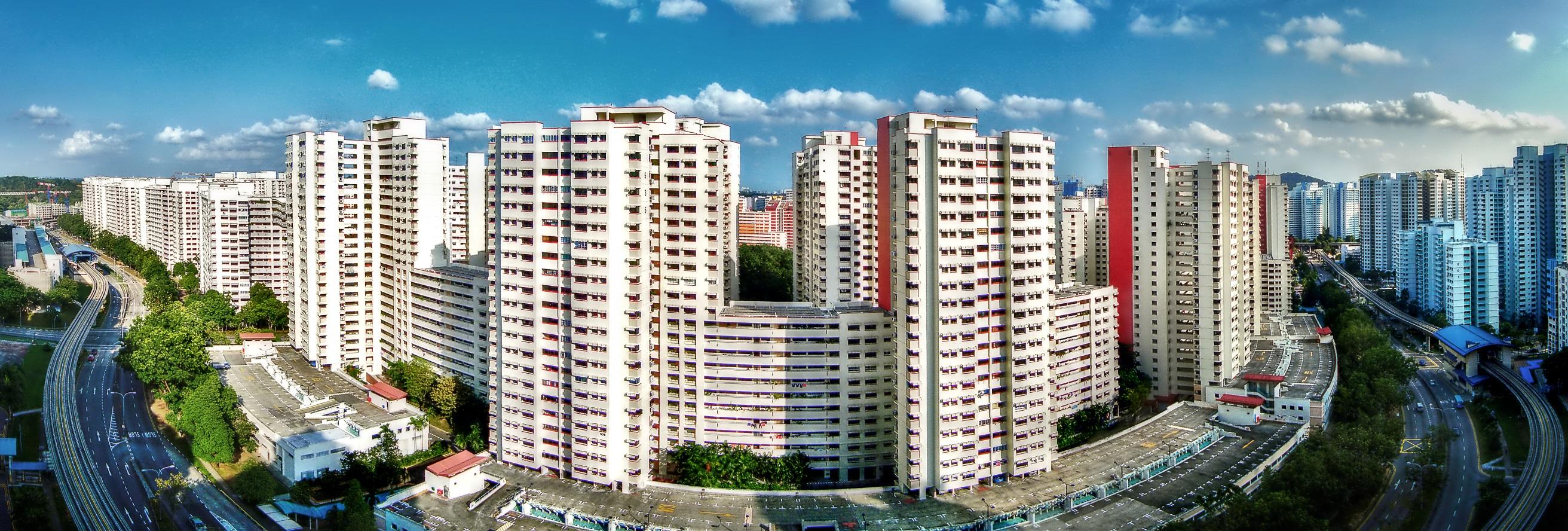 HDB flats in Bukit Panjang