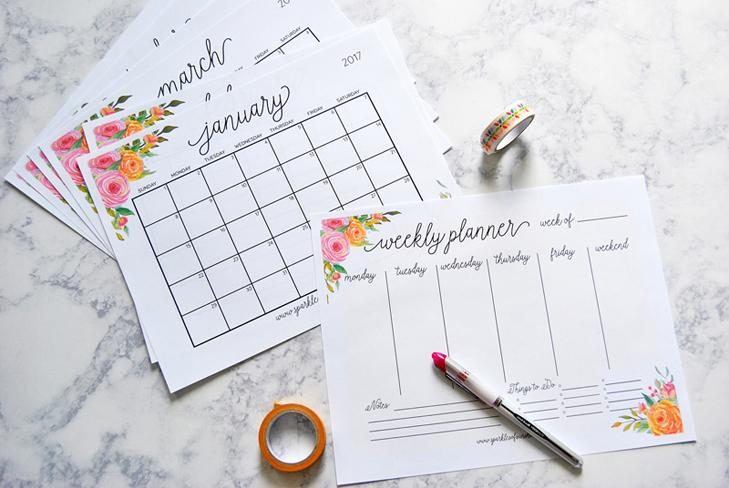 Tips Bikin Kalender Sendiri Yang Unik Di Rumah Rumah Dan Gaya