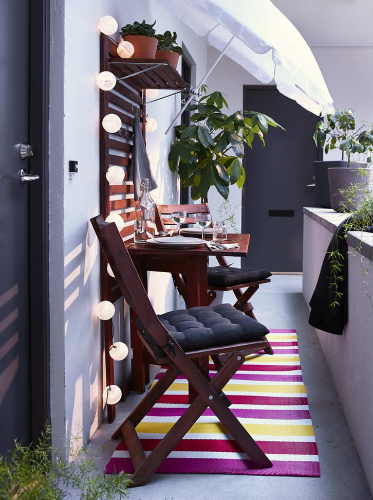 Ruang makan di tempat sempit