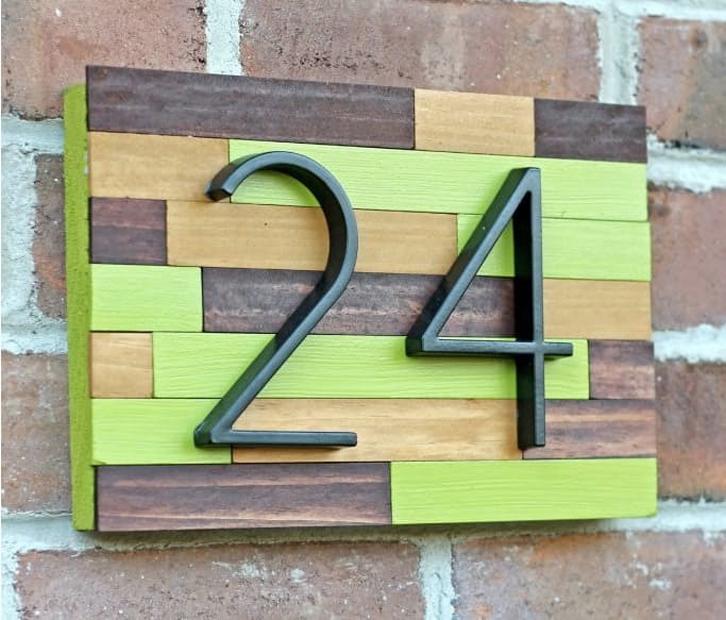 Tips desain nomor rumah