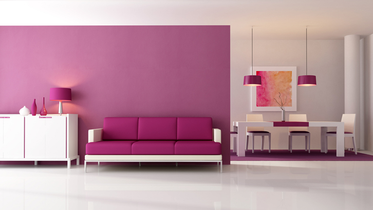 Tips Aplikasikan Warna Ungu Di Rumah Rumah Dan Gaya Hidup Rumah Com