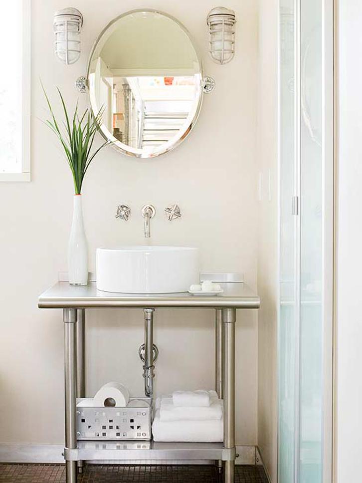 Ragam meja rias untuk kamar mandi